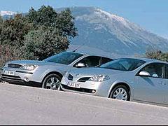 Ford Mondeo 1.8 16v Trend / Nissan Primera 1.8 16V Acenta