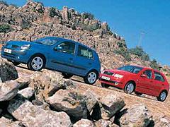 Renault Clio 1.4 16V / Skoda Fabia 1.4 16V