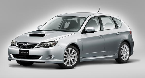 Nuevo Subaru Impreza Rally Edition