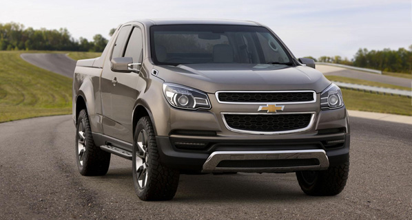 Desvelado el Chevrolet Colorado Concept