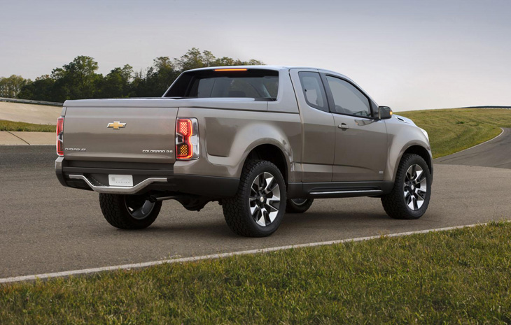 Chevrolet Colorado Concept.