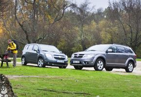 Fiat Freemont vs Chevrolet Orlando