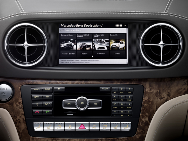 Mercedes SL 350 el contacto