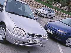 Citroën Saxo 1.5 D / Fiat Punto 1.9 JTD ELX / Renault Clio 1.9 D Alizé