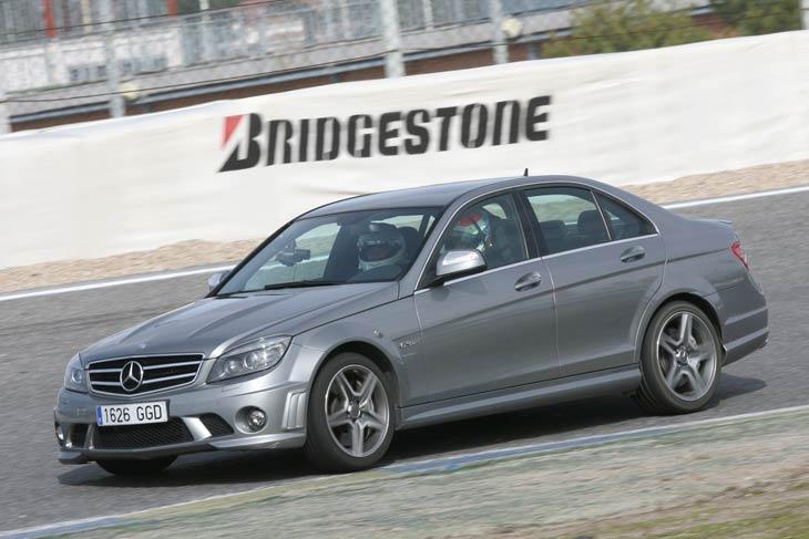 Mercedes C63 AMG: prueba racing