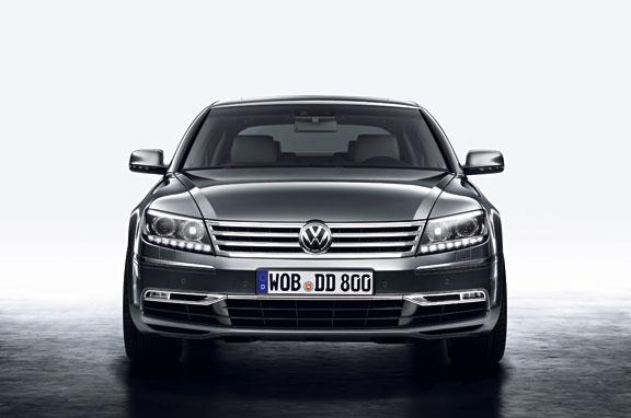 Nuevo VW Phaeton, lujo a lo grande