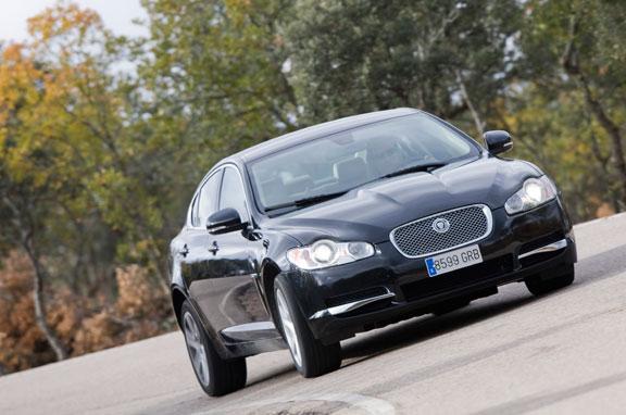 Jaguar XF, la prueba