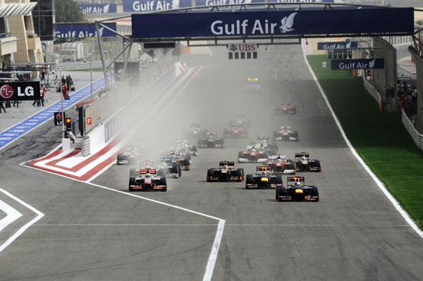 Salida sin problemas para Sebastian Vettel