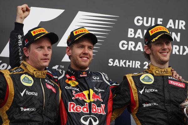 Doblete de Lotus en el podio, el primero en la Fórmula 1 de Romain Grosjean