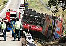 El despiste, detrás del accidente de Pedrezuela