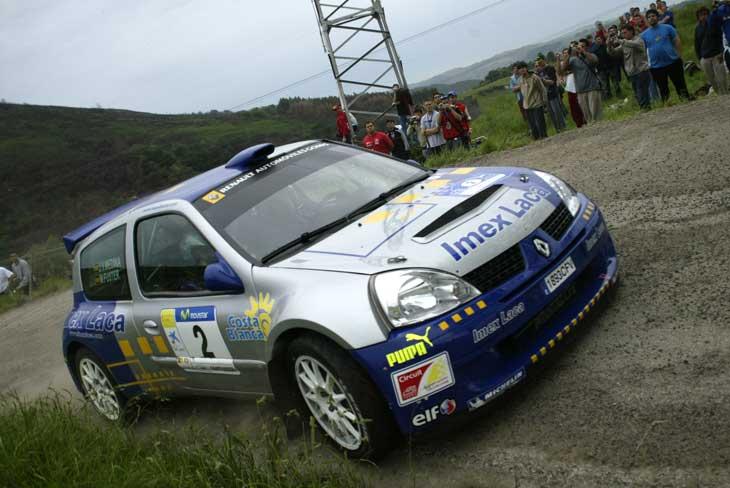 Tras el Rally de Santander, Fuster ocupa la segunda plaza en la clasificación del certamen.