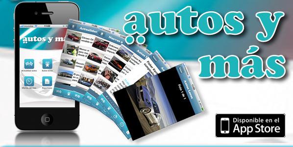 Autos y más autos: la información de motor, en tu iPhone