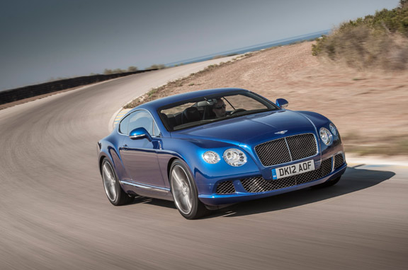 Nuevo Bentley Continental GT Speed