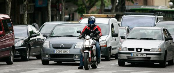 Los conductores, contra la Ley de Tráfico