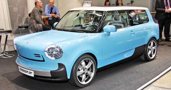 Trabant nT: un concept para otro coche del pueblo