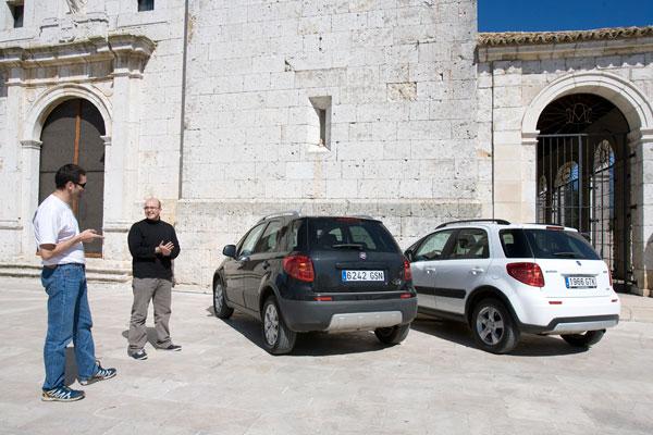Fiat Sedici vs Suzuki SX4