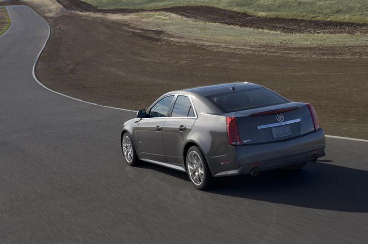 Nuevo Cadillac CTS-V de 564 CV.