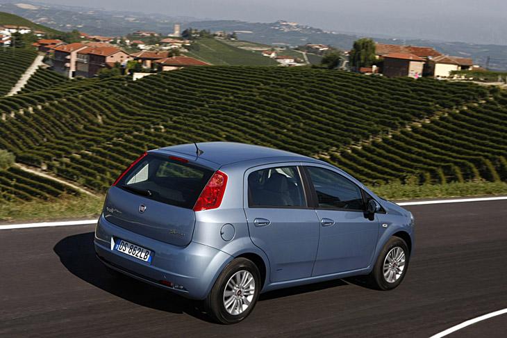 Fiat Grande Punto Gas Natural