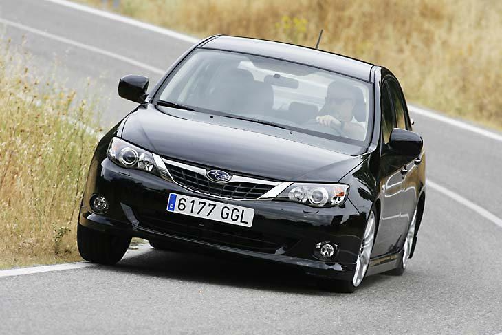 Subaru Impreza Sedán Acrópolis