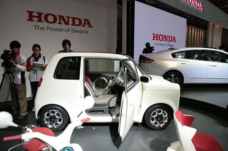 Honda EV-N, vintage urbano