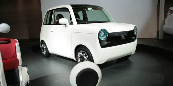 Honda EV-N, revival urbanita