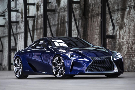 Lexus LF-LC, coupé híbrido de infarto