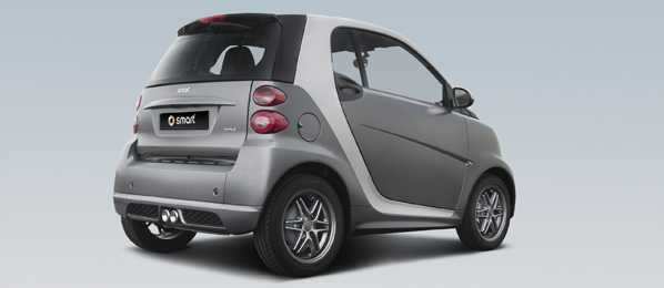 Smart Fortwo 'grey matt collection'