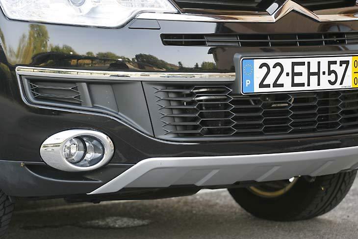 Citroën C-Crosser: exteriores