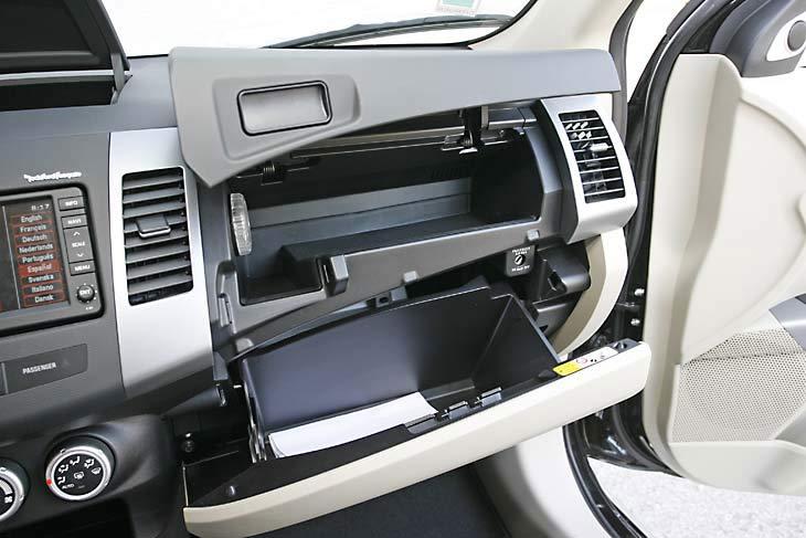 Citroën C-Crosser: interiores