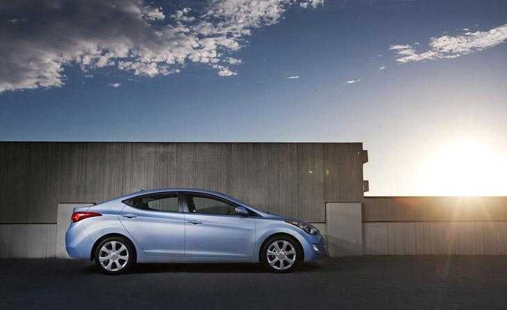 Hyundai Elantra 2011 en Los Ángeles