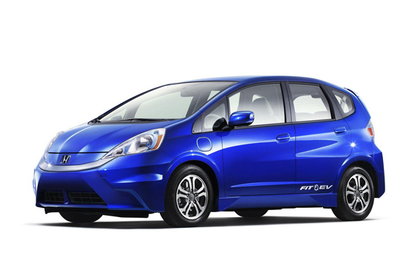 Honda Jazz/Fit EV eléctrico.