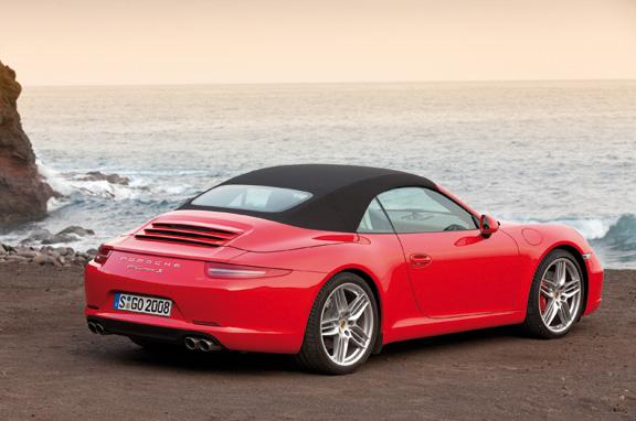 Nuevo Porsche 911 Carrera Cabriolet