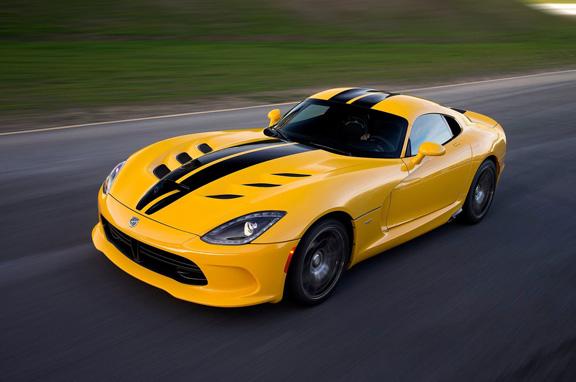 SRT Viper 2013, el gran deportivo americano