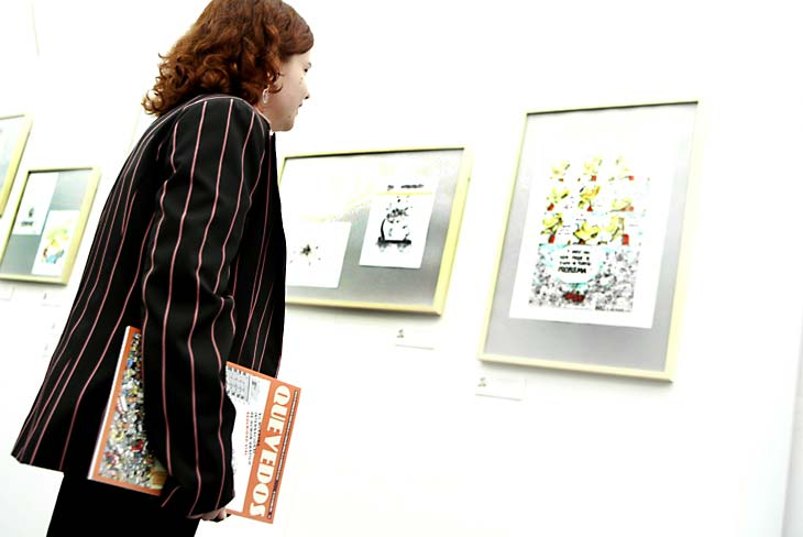 Exposición de chistes gráficos