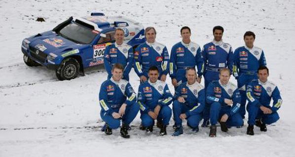Sainz y Volkswagen, preparados para el Dakar