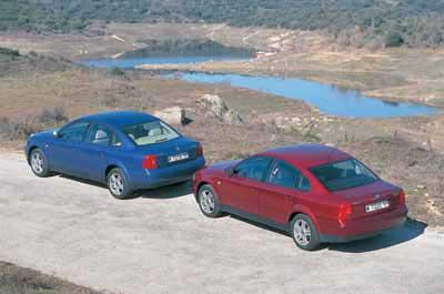 Comparativa: Volkswagen Passat TDi V6 / Volkswagen Passat TDi V64Motion