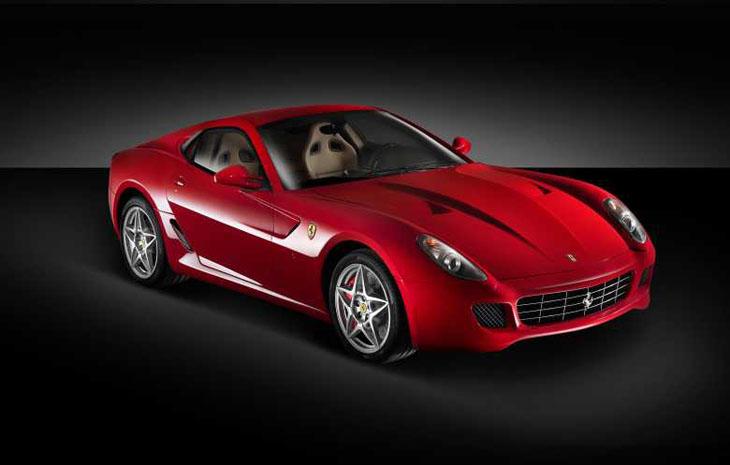 Ferrari 599 GTB, lo más deportivo.