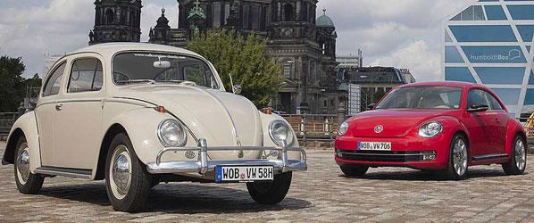 Exposición de la historia del VW Beetle