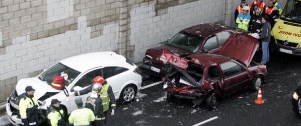 La mayoría de accidentes, en ciudad