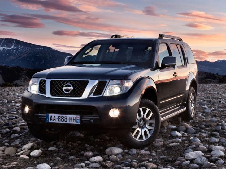 Nuevos Nissan Navara y Nissan Pathfinder.