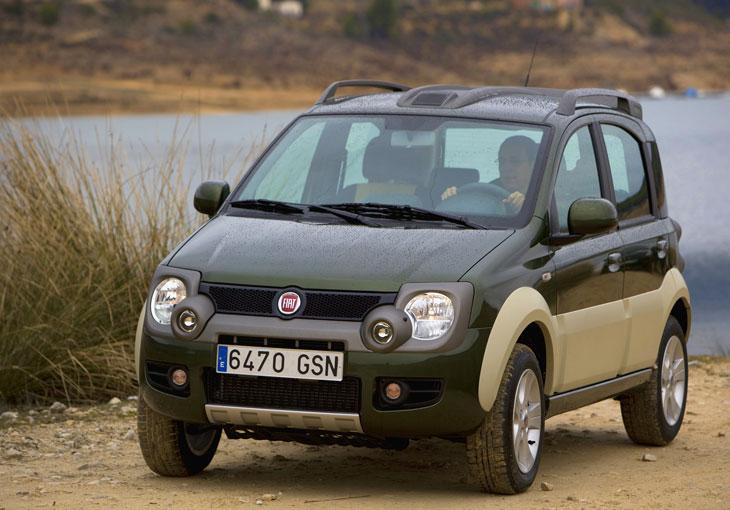 Fiat Panda 4x4 y Sedici