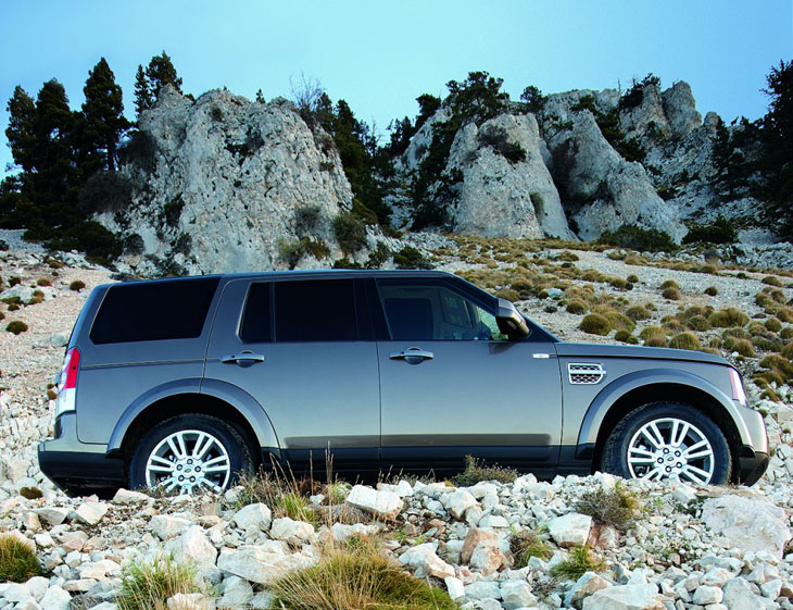 Land Rover Discovery 4 S Snow Edition.