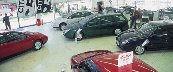 Aumenta la antigüedad de los vehículos adquiridos en el mercado de ocasión