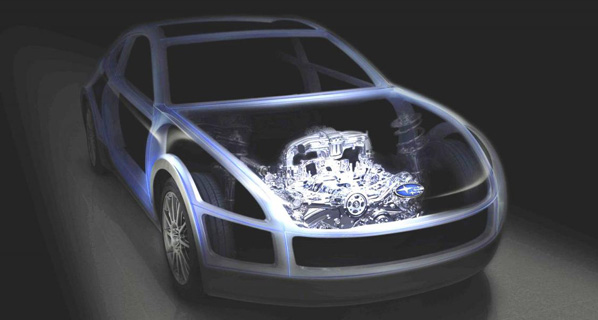 Primera imagen del Subaru Boxer Sport Car