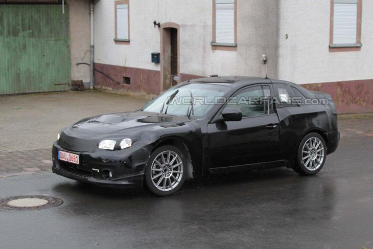 Subaru Boxer Sport Car.