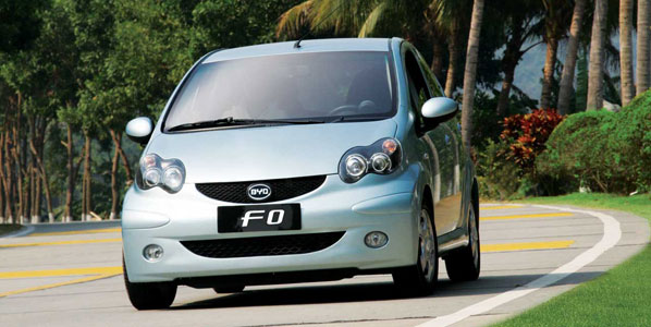 BYD F0, el Toyota Aygo chino