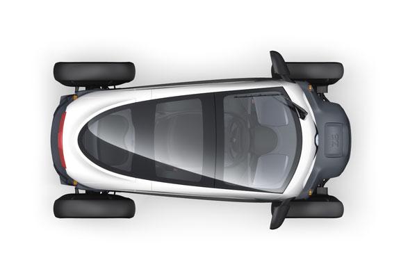 Renault Twizy, el nuevo cuadriciclo urbano eléctrico