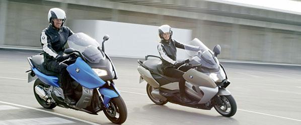 BMW C 650 CT y BMW C 600 Sport