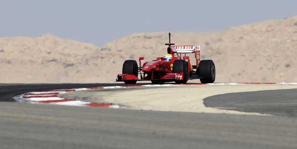 Ferrari concentrada en 2010