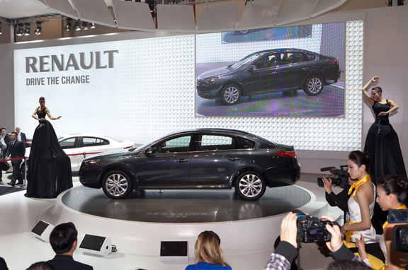 Renault Talisman en el Salón de Pekín (China)